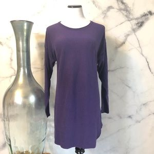 Parkhurst Purple Tunic Top Size XL